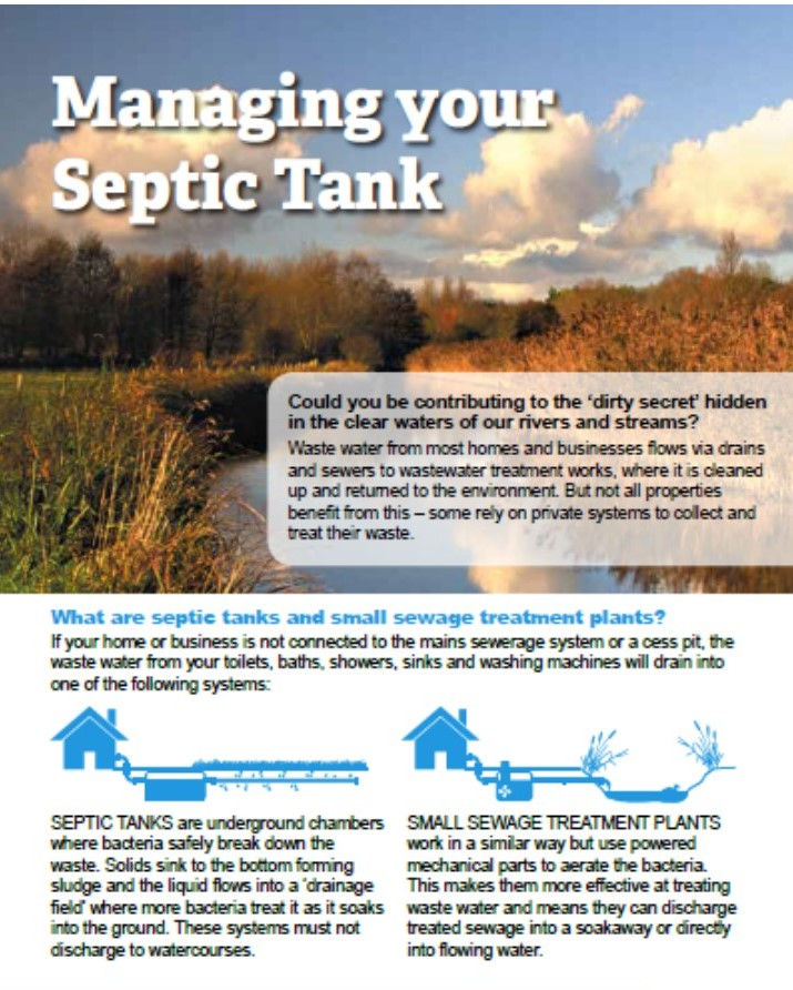 Managing Your Septic Tank